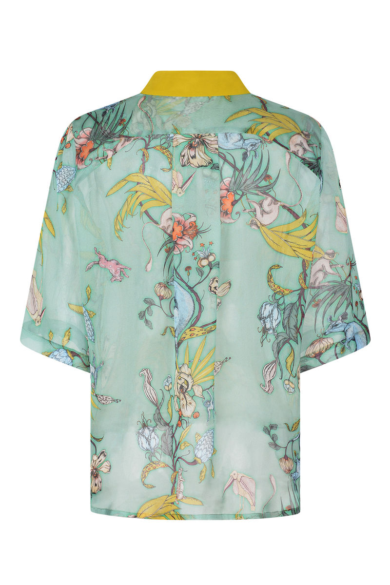 MILDRED SHIRT IN KANAGROO PRINT - product images  of
