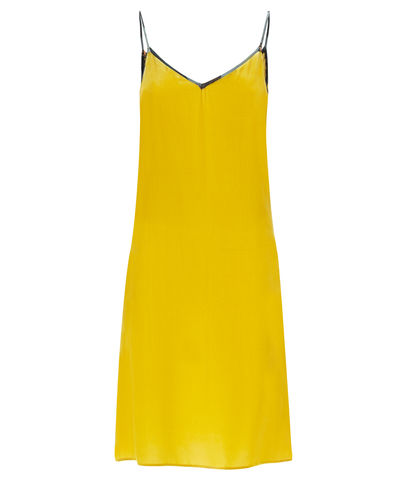 Lilly,Camisol,in,Ochre,silk,velvet,slip dress camisole