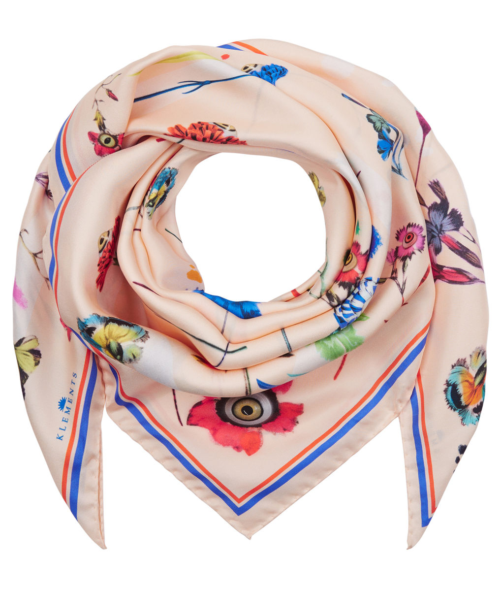 Medium scarf in floral explosion print - product images  of