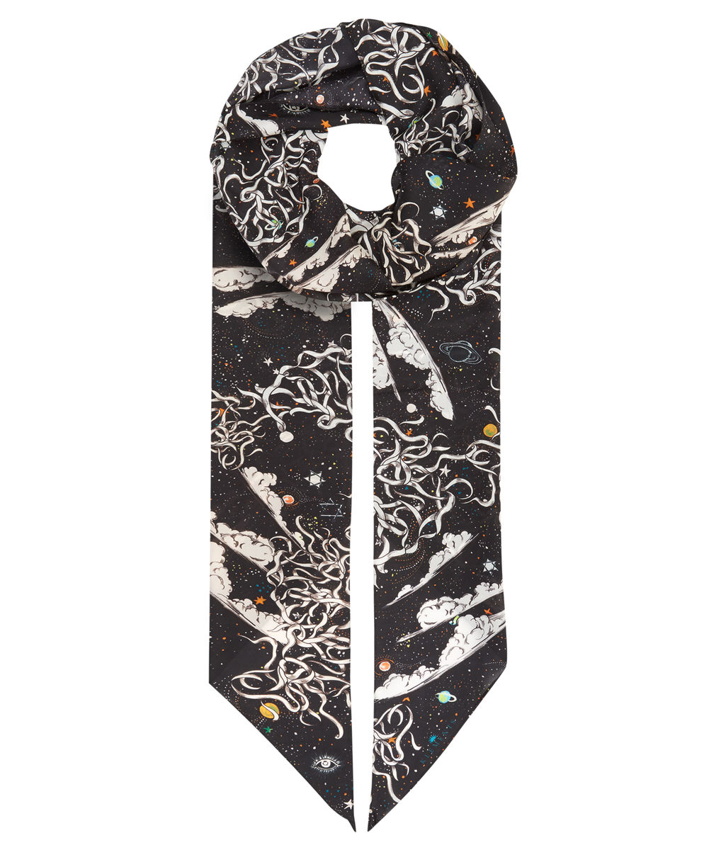 Razor scarf Tear Garden print - product images  of