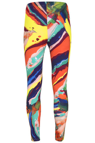 Magma,Margate,Leggings,unusual leggings luxury printed marble marbling