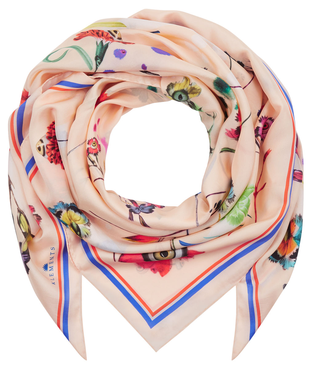 Square scarf in floral explosion print - product images  of