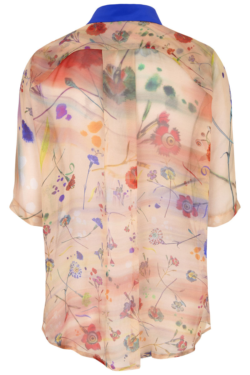 Mildred shirt in floral explosion blurs print - product images  of