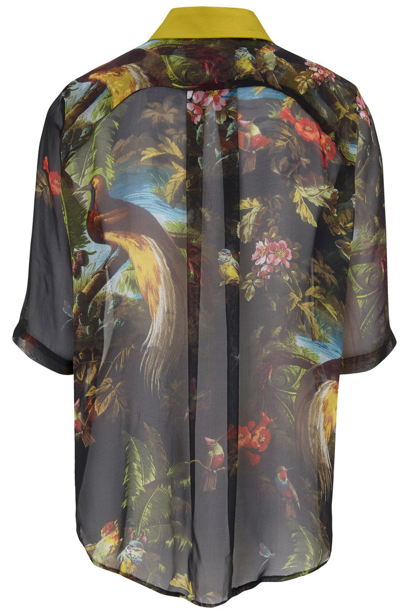 Mildred shirt in Volcano print - product images  of