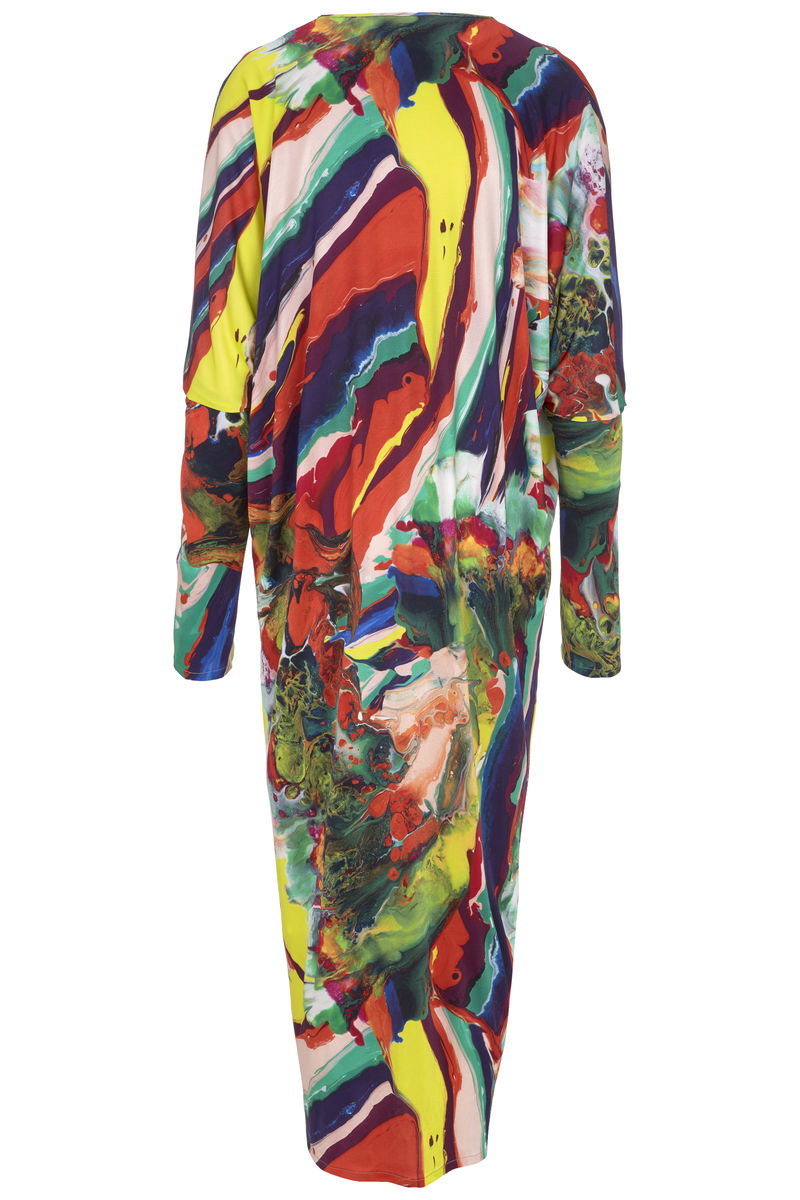 Auguste dress in Magma print - product images  of