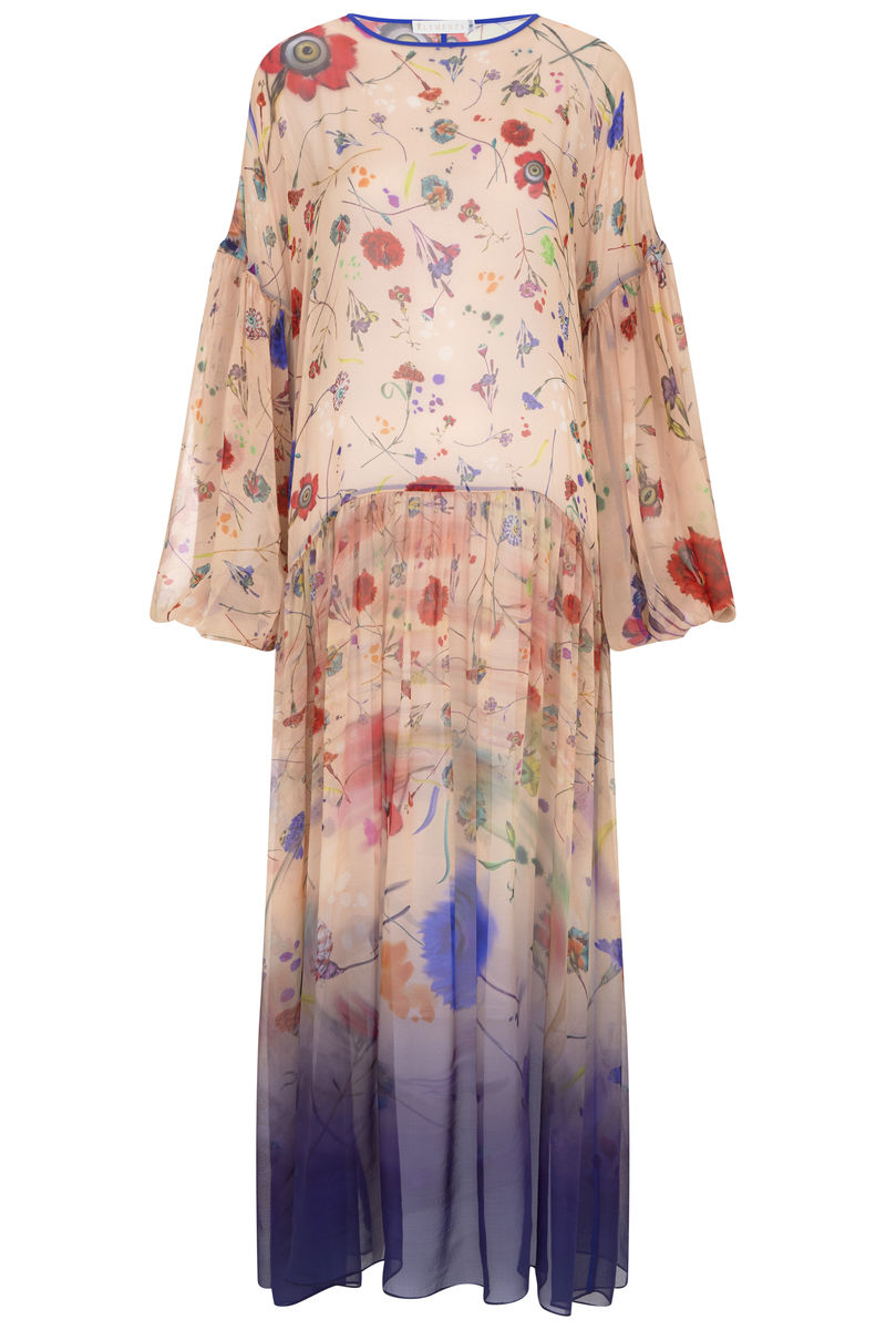 Dusk Dress in Floral Explosion Print / SOLD OUT - product images  of