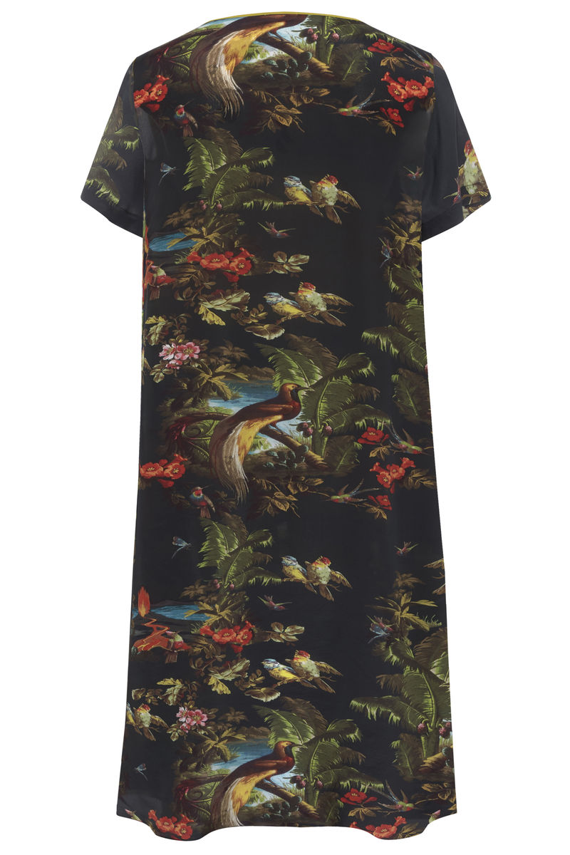 Frieda Dress in Volcano Print - product images  of