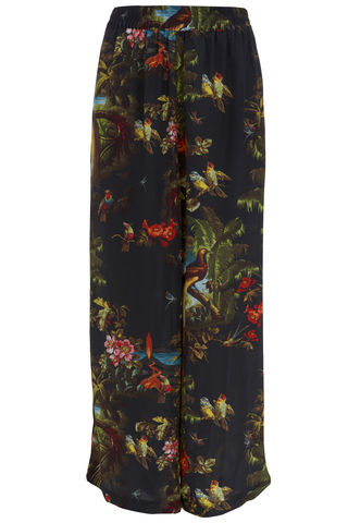Pluto,Trousers,in,Volcano,Print,silk trouser printed made in england