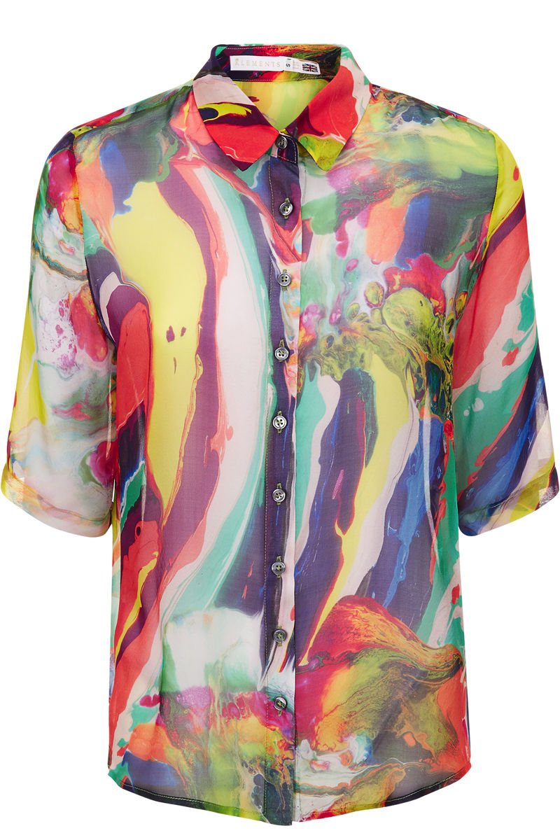 Mildred shirt in Magma Print - product images  of