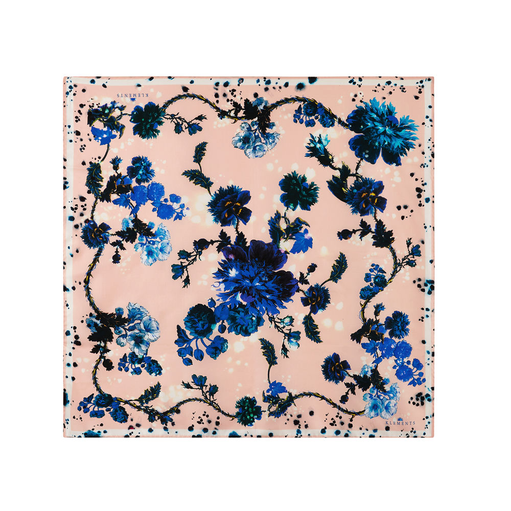 Medium scarf in Gothic Floral print - product images  of