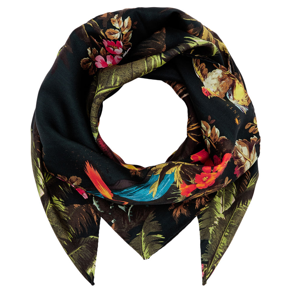 Medium scarf in Volcano Print - product images  of