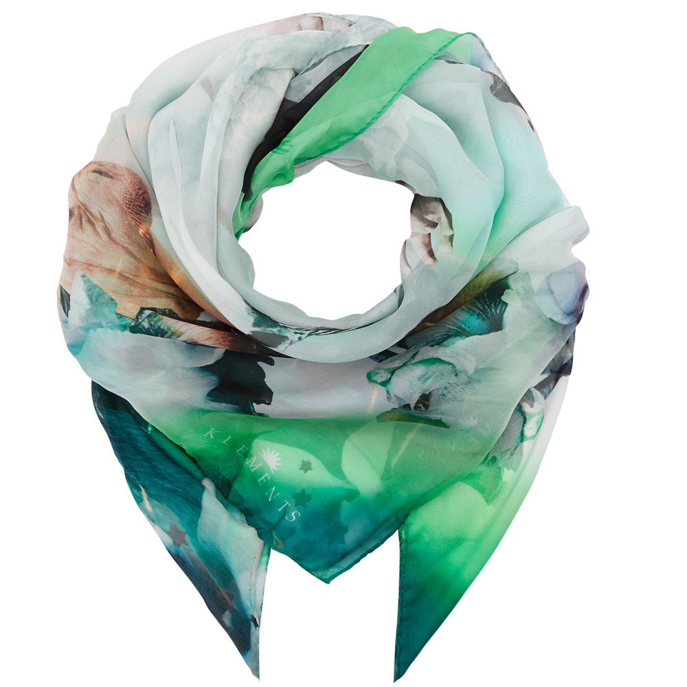 Square scarf in Eruption print - product images  of