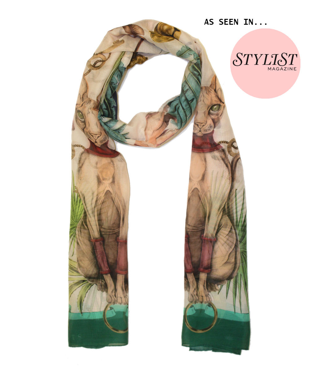 Sphynx long Scarf - product images  of