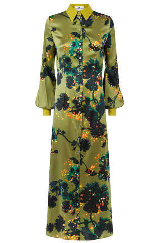 Warsaw,dress,in,Gothic,Floral,(ochre)