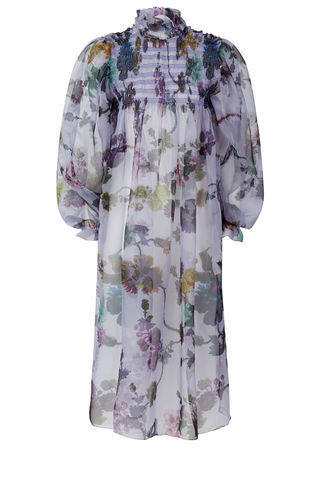 Smocked,Dusk,Dress,in,Gothic,Floral,print,(iced,lilac)