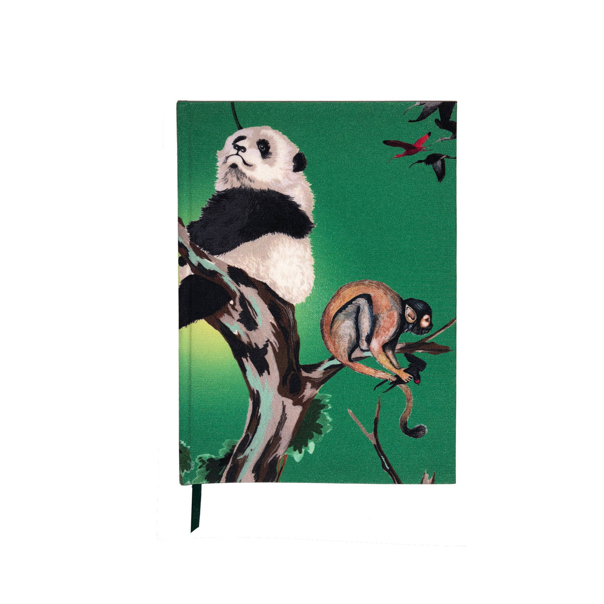 Pandas Palace Print A5 note book - product images  of