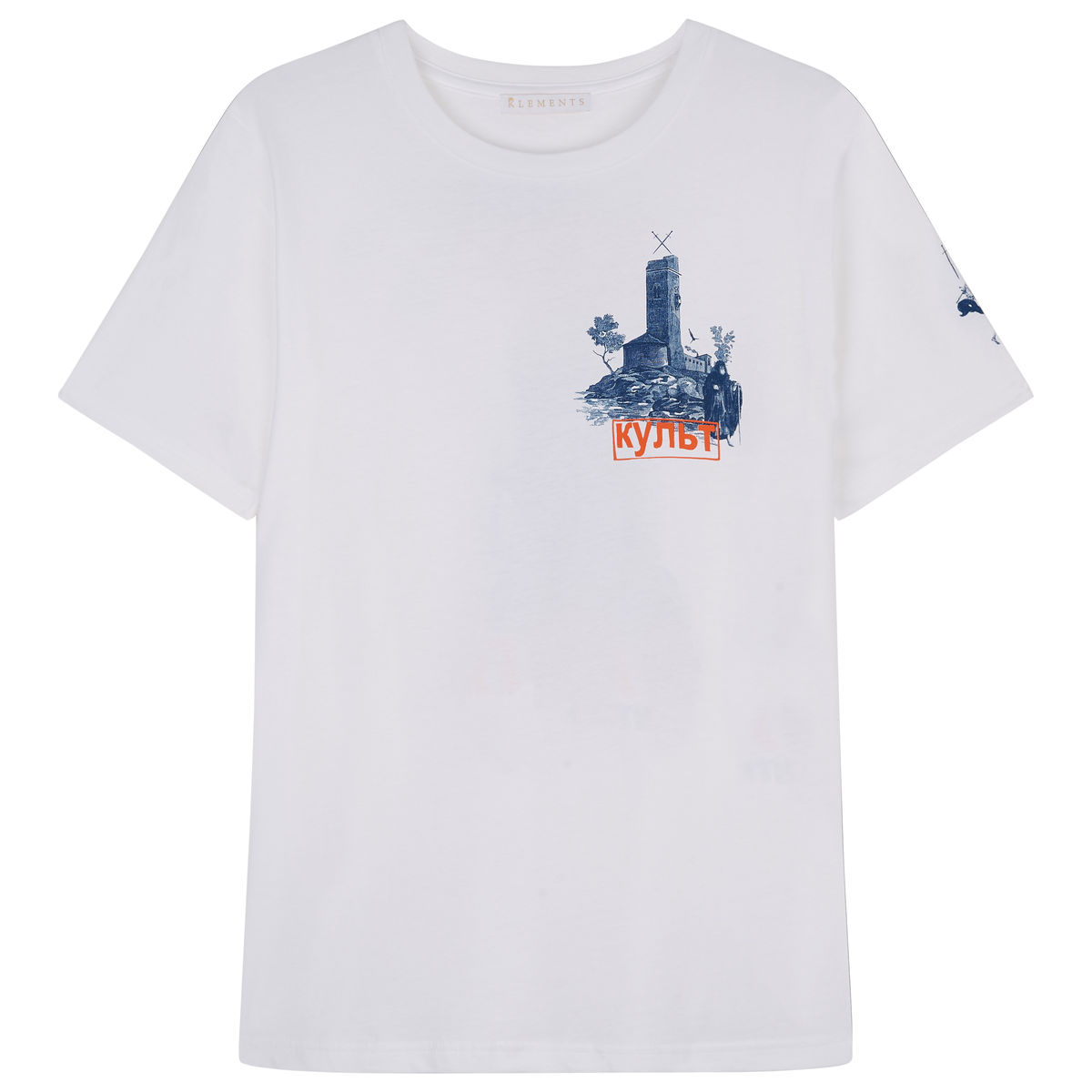 Cult Printed T-shirt, white - product images  of