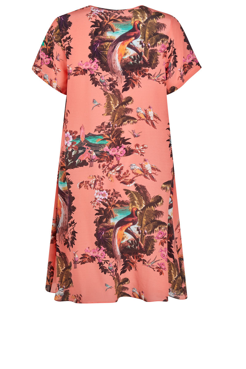 Frieda Dress Volcano hazed sunset - product images  of