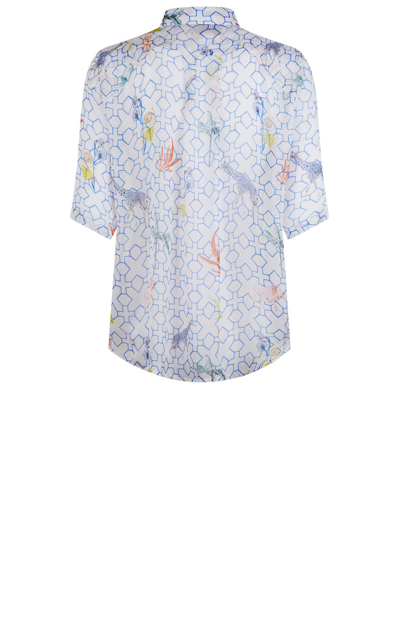 Mildred shirt in bamboo print - product images  of