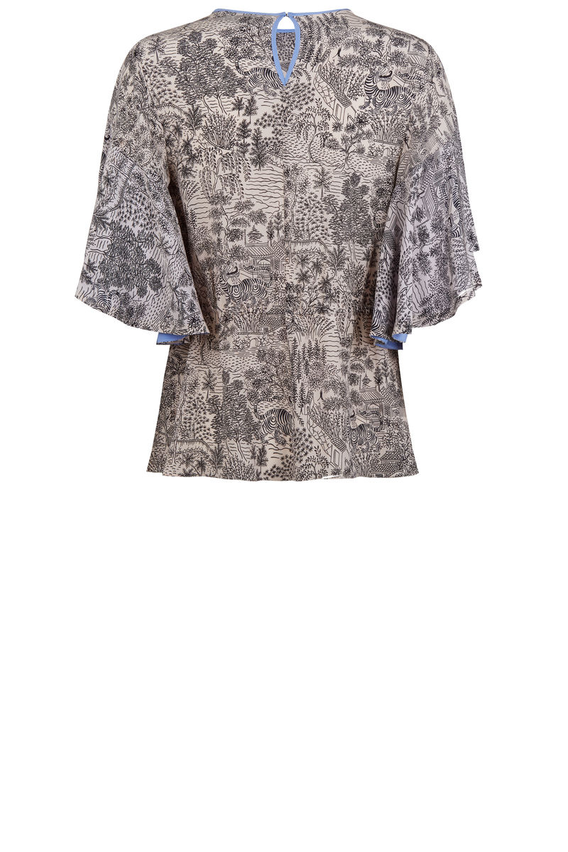 Somerleyton Top in Abandoned Village print - product images  of
