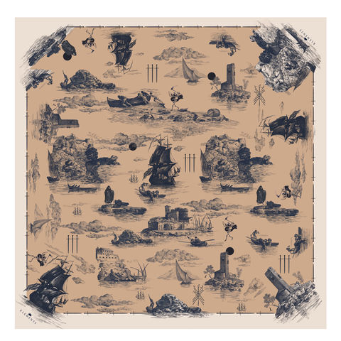 Large,scarf,in,Doomed,Voyage,print