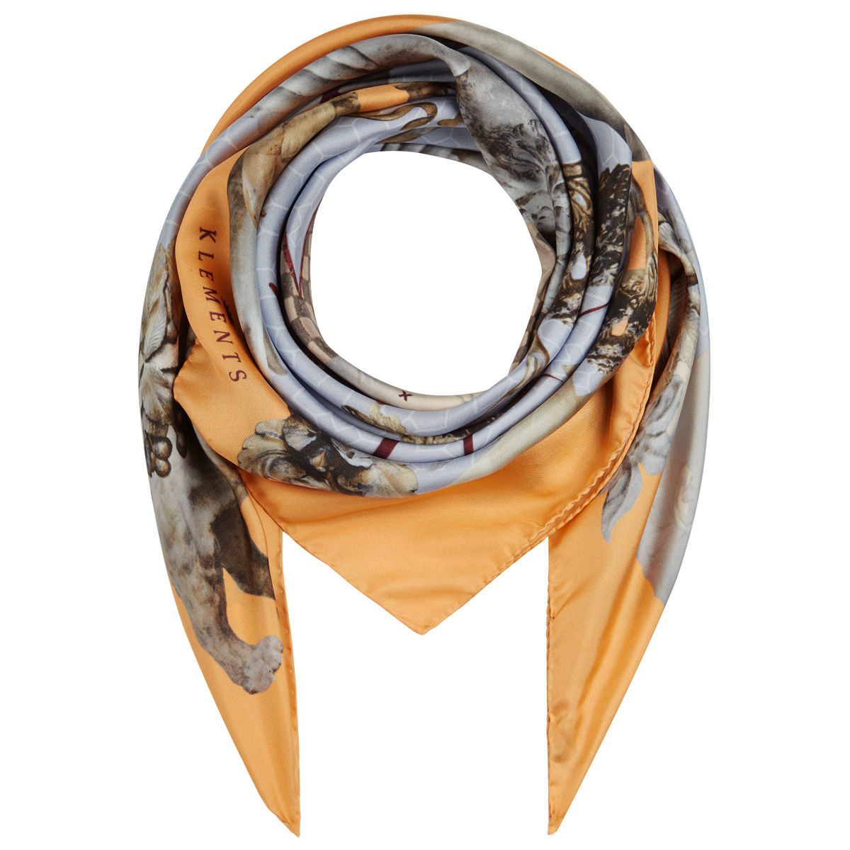 Medium scarf in Guardians of Protection print - product images  of