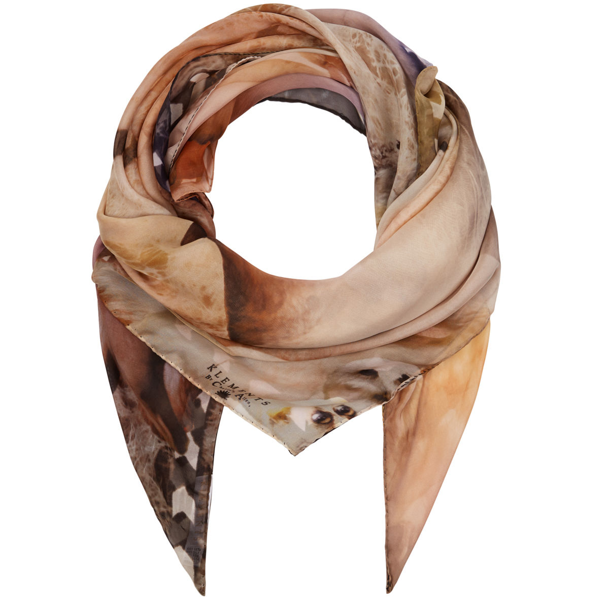 Large scarf in Narnia print - product images  of