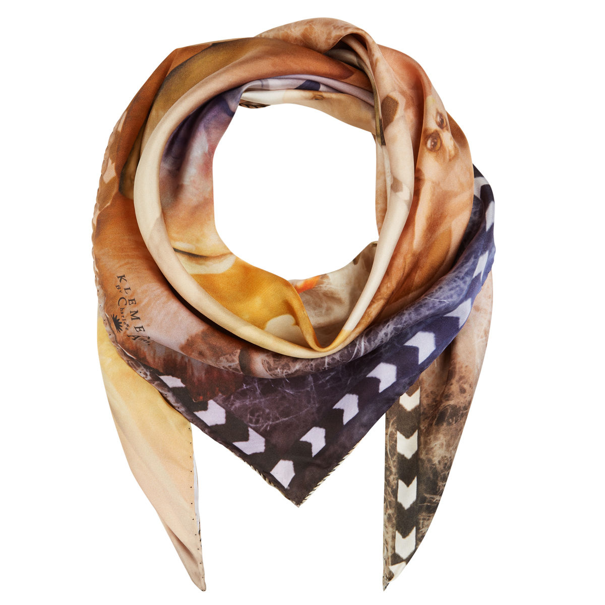 Medium scarf in Narnia print - product images  of