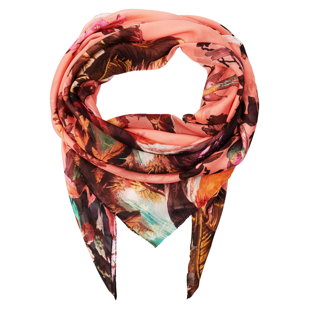 Large scarf in Volcano Hazed Sunset - product images  of