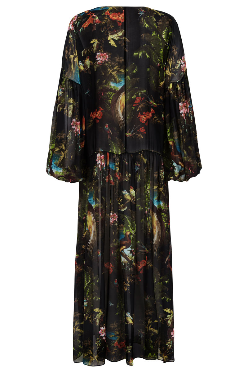 DUSK DRESS VOLCANO PRINT *online exclusive* - product images  of