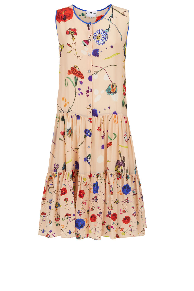 Toulouse dress floral explosion print *online exclusive* - product images  of