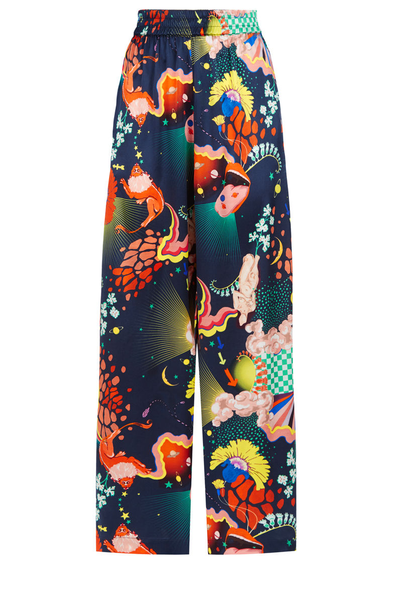 Pluto Pants in Lucid print - product images  of