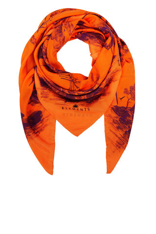 Large,scarf,in,Doomed,Voyage,orange_boat_ship_sea_doomed_print