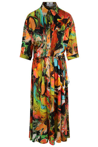 Escapist,Dress,in,Plasticine,print