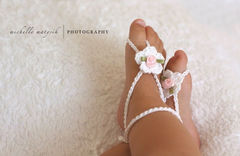 Baby,Barefoot,Sandals,,Crochet,Newborn,Photo,Prop,,Shoes,,Girl,,Ready,To,Ship,,Photography,Prop,Clothing,Shoes,Children,baby_sandals,baby_girl_sandals,barefoot_sandals,baby_barefoot_sandal,crochet_sandal,newborn_crochet,crochet_baby_sandals,newborn_photo_props,baby_girl,ready_to_ship,newborn,baby_shoes,newborn_girl_photo,mercerized cotton,satin rose