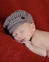 Newborn Boy Hat & Bow Tie - product images 3 of 5