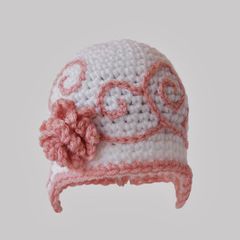 Cute Newborn Girl Crochet Hat - product images 3 of 5