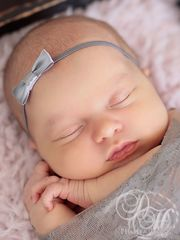 Newborn Headband and Lace Wrap - product images 2 of 3