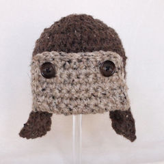 Newborn Aviator Hat - product images 2 of 3