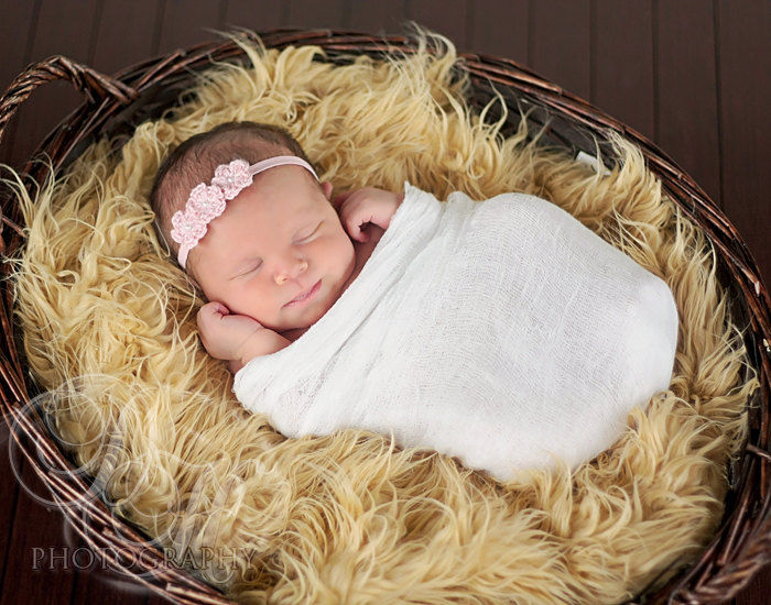 Baby Crochet Headband, Newborn - product image