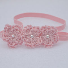 Baby Crochet Headband, Newborn - product images 4 of 4
