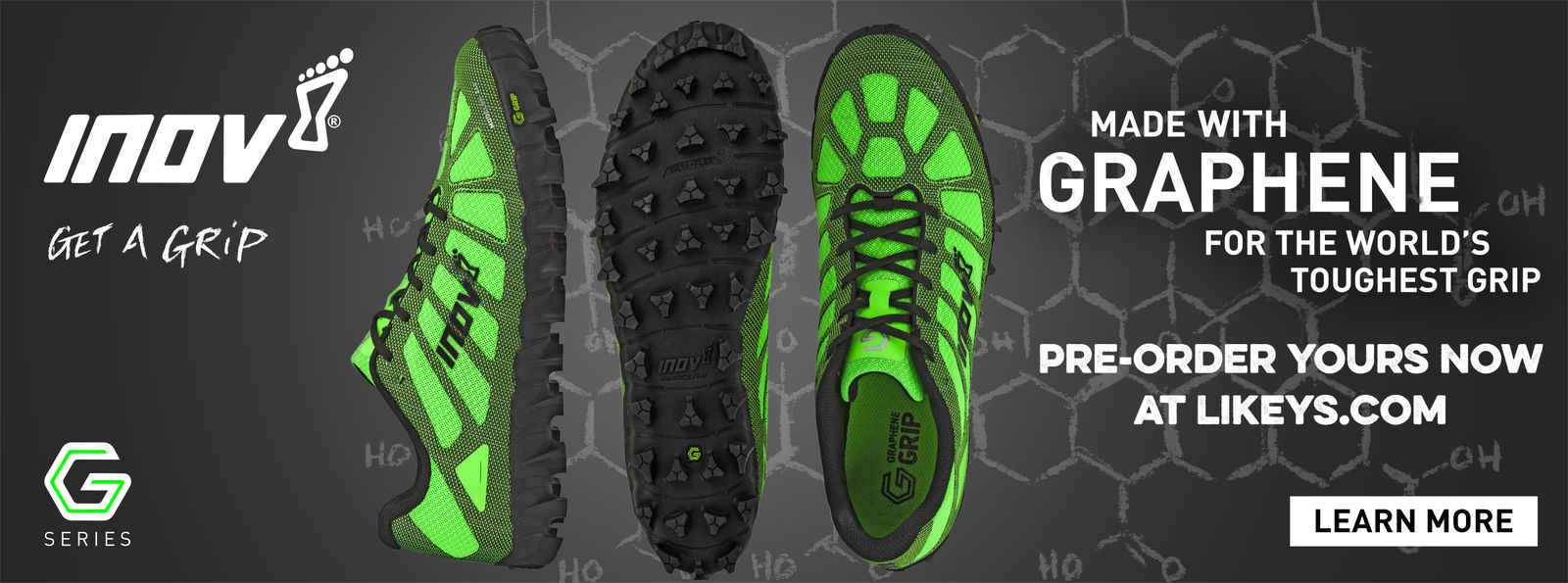 pre-order your pair of Inov-8 Graphene Mudclaw now