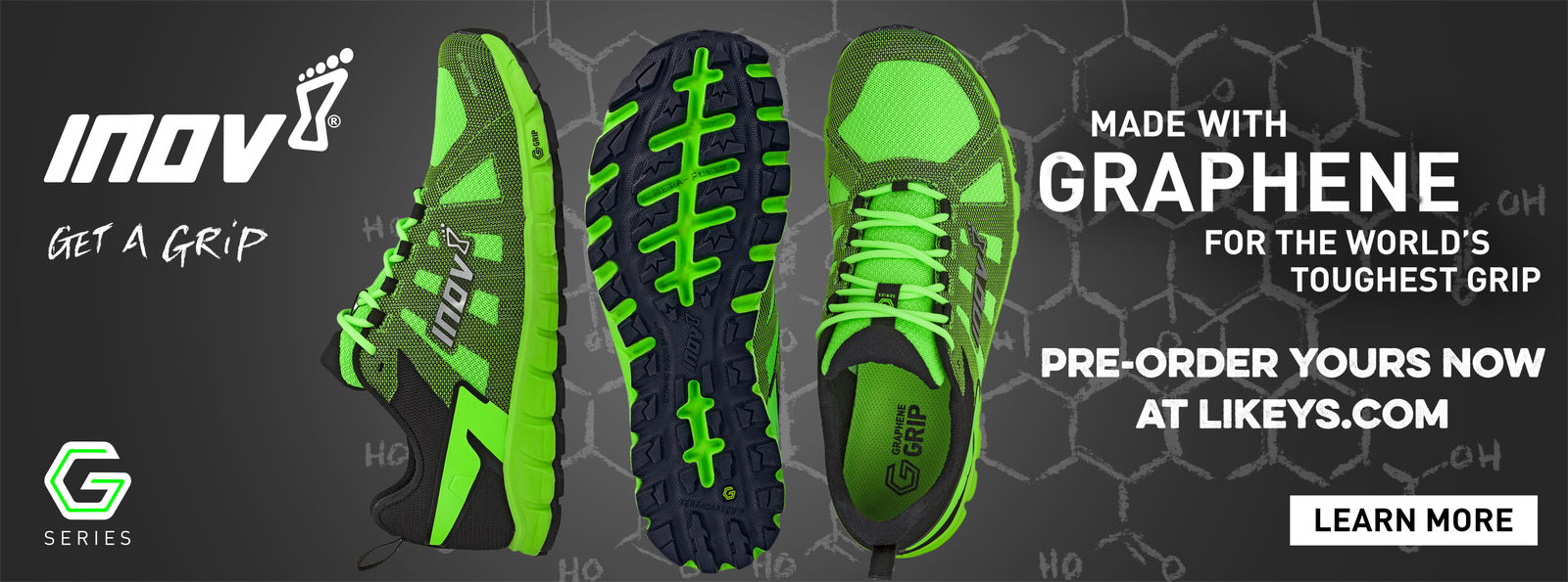 pre-order your pair of Inov-8 Graphene Terra Ultra 260 now