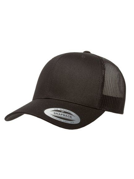 DEKA Flying D Flexfit Snapback Black Trucker Cap - product images  of