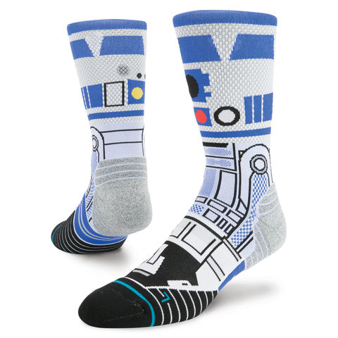Stance,Star,Wars,Men's,R2D2,Crew,Run,Sock,,Stance Star Wars Men's R2D2 Crew Run Sock