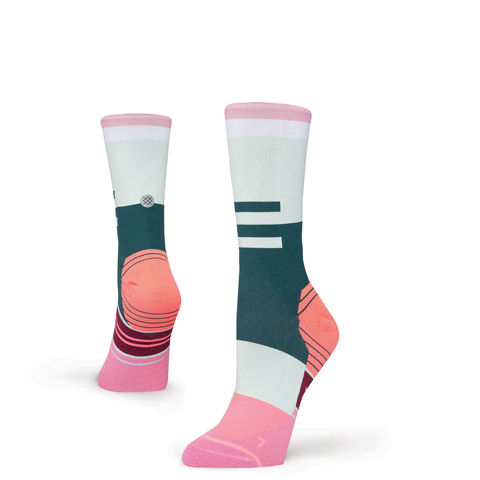 Stance,Women's,Ciele,Athletique,Pink,Run,Socks,Stance Women's Ciele Athletique Pink Run Socks