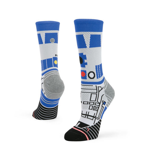 Stance,Star,Wars,Women's,R2D2,Crew,Run,Socks,Stance Star Wars Women's R2D2 Crew Run Socks