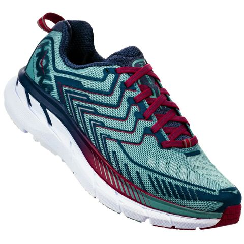 Hoka,One,Clifton,4,Wide,Women's,Road,Shoe,Hoka One One Clifton 4 Wide Women's Road Shoe