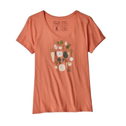 Patagonia,Women's,Harvest,Haul,Organic,V-Neck,T-Shirt