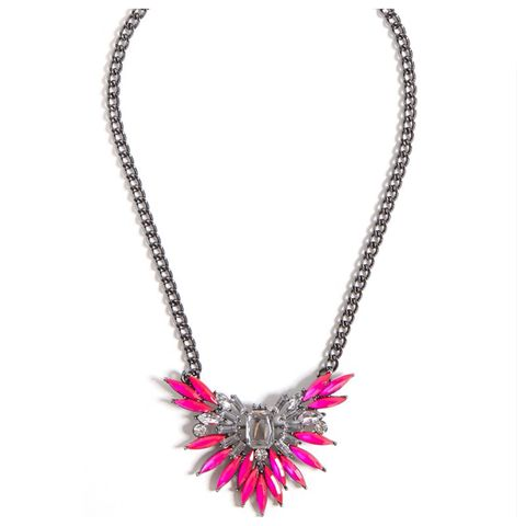 PINK FLAMINGO NECKLACE - product images  of